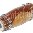 MRIDANGA DRUMS~MRIGANGAM~MRIDANG~MRUDANG~SHESHAM WOOD~NORTH INDIAN~YOGA~BHAJAN