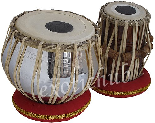 TABLA DRUMS SET~PROFESSIONAL 2.5 KG BRASS BAYAN~SHEESHAM DAYAN~YOGA~TABLA EHS