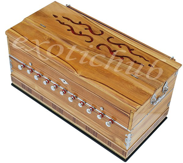 HARMONIUM~SPECIAL JAS REED TEAK WOOD~3½ OCTAVES~440 Hz~YOGA~MEDITATION~BHAJAN~DJ