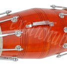 DHOLAK DRUMS~18 BOLT TUNED~MADE WITH MANGO WOOD~DHOLKI~BHAJAN~KIRTAN~MANTRA~