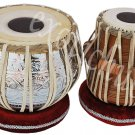 TABLA DRUMS~PROFESSIONAL~DESIGNER BRASS BAYAN~SHEESHAM WOOD DAYAN~BHAJAN~KIRTAN
