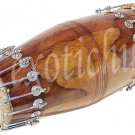 BOLT TUNED PAKHAWAJ DRUMS~SHESHAM WOOD~PRO QUALITY~BHAJAN~KIRTAN~YOGA~MEDITATION