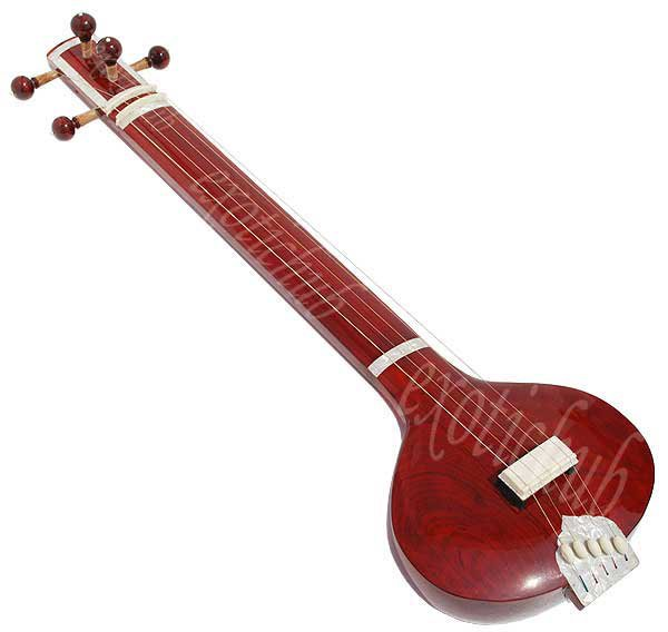FLAT TANPURA / TAMBORA / TAMBURA WITH 5 STRING~PRO QUALITY~YOGA~BHAJAN~SHRUTI~DJ