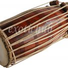 PAKHAWAJ DRUM~SHEESHAM WOOD~HAND MADE~FULL SIZE~PROFESSIONAL QUALITY