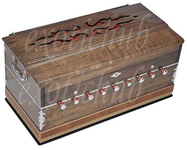 HARMONIUM BY KAAYNA MUSICALS~PRO GRADE~3½ OCTAVE~9 STOP~BHAJAN~YOGA~KIRTAN-440Hz