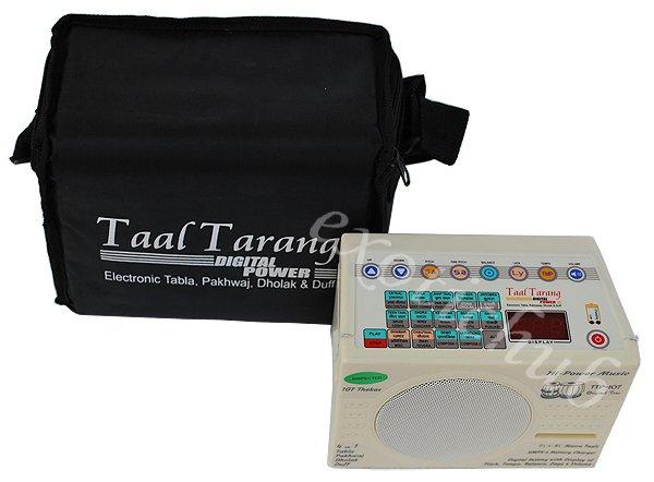 TAAL TARANG~DIGITALPOWER ELECTRONIC TABLA DRUMS, PAKHAWAJ, DHOLAK & DUFF~1 YR WA