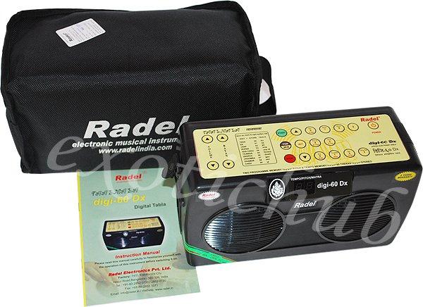 ELECTRONIC TABLA DRUMS RADEL TAALMALA~DIGI-60 DX~STEREO SOUND~3 YEAR WARRANTY