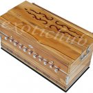 HARMONIUM~JAS REED~TEAK WOOD~3½ OCTAVES~440 Hz~YOGA~BHAJAN~KIRTAN~MANTRA~SHRUTI~