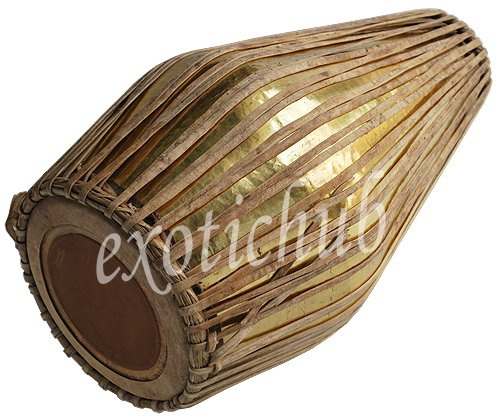 NEW BRASS KHOL DRUM~NAAL~MRIDANG~HAND MADE FULL SIZE~LONG LIFE~GREAT SOUND