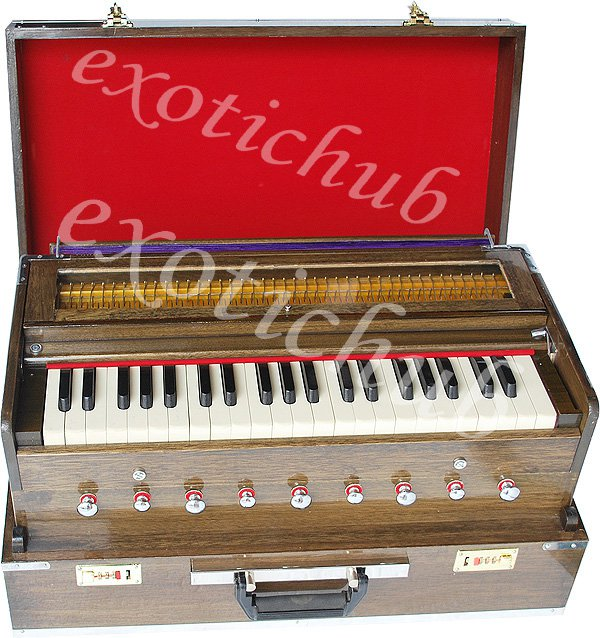 TRAVELER HARMONIUM~9 STOP~3½ OCTAVES~440 Hz~YOGA~BHAJAN~MANTRA~KIRTAN~P�IANO EHS