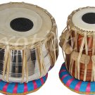 TABLA DRUMS~DELUXE STEEL~PROFESSIONAL GRADE~FREE BAG/BOOK/HAMMER/CUSHION/RING