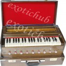 TRAVELER HARMONIUM~3½ OCTAVE~9 STOPS~COUPLER~CONCERT QUALITY~BASS / MALE~440 Hz