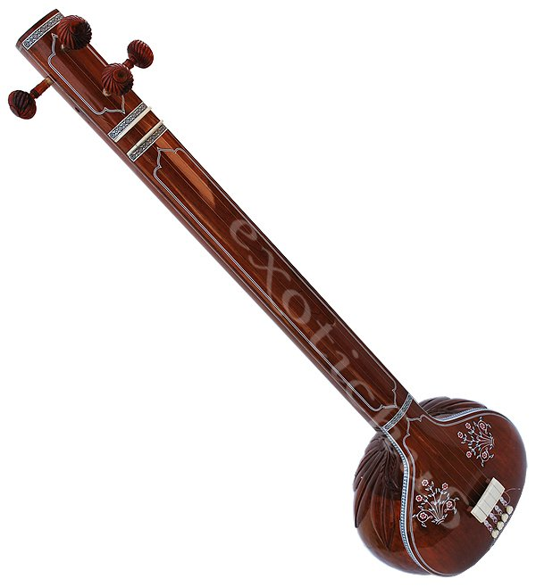 HEMRAJ FEMALE TANPURA WITH FIBER BOX~CONCERT QUALITY~TANPURI~TAMBORA~TAMBURA
