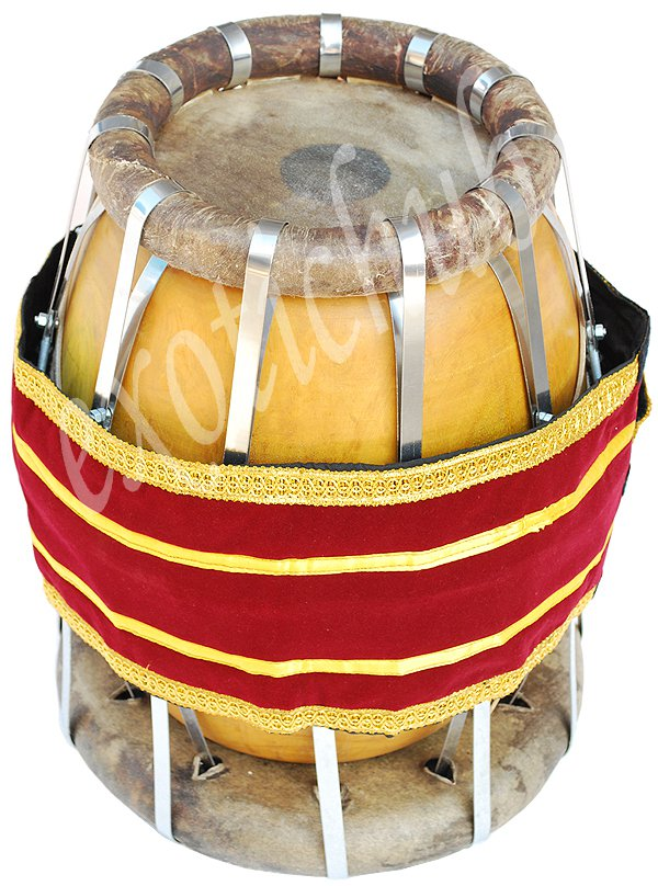 NEW THAKIL~THAVIL~SOUTH INDIAN DRUMS~HAND MADE WITH JACKFRUIT WOOD~GREAT SOUND