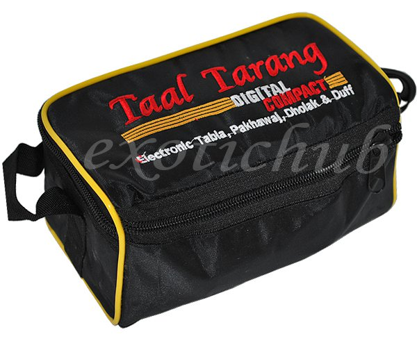 NEW TAAL TARANG~DIGITAL COMPACT ELECTRONIC TABLA DRUMS, PAKHAWAJ, DHOLAK & DUFF