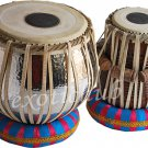 TABLA DRUM SET~CONCERT QUALITY~HAMMERED COPPER BAYAN 5 KG~SHEESHAM WOOD DAYAN