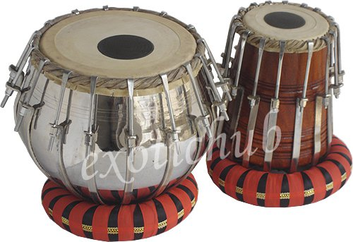 BRASS TABLA DRUMS SET~BOLT TUNED~SHEESHAM WOOD DAYAN~YOGA~BHAJAN~KIRTAN~MANTRA~