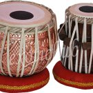 TABLA DRUM SET~DESIGNER COPPER BAYAN~SHESHAM WOOD DAYAN~HAMMER~CUSHION~COVER~DJ