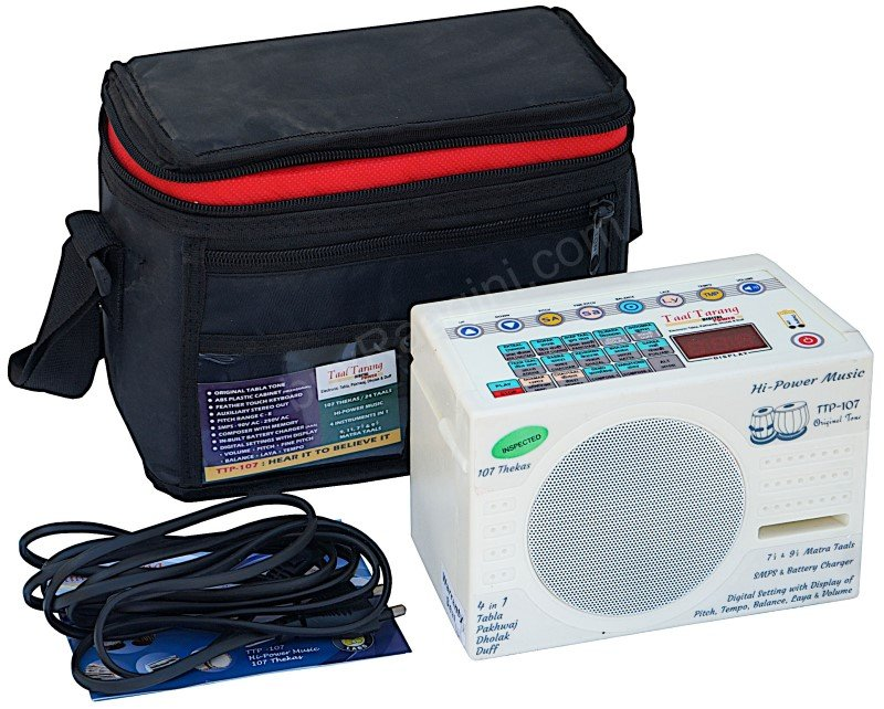 TAAL TARANG POWER� BY SOUND LABS ELECTRONIC TABLA/MAINS POWER CORD/HC-01