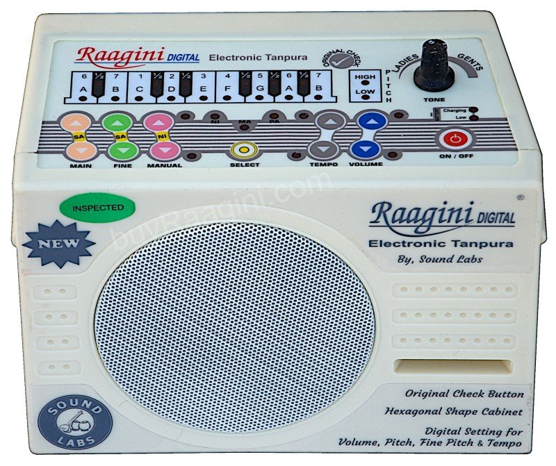 NEW RAAGINI DIGITAL ELECTRONIC TANPURA/BUY ORIGINAL RAGINI TAMBURA/DG-2