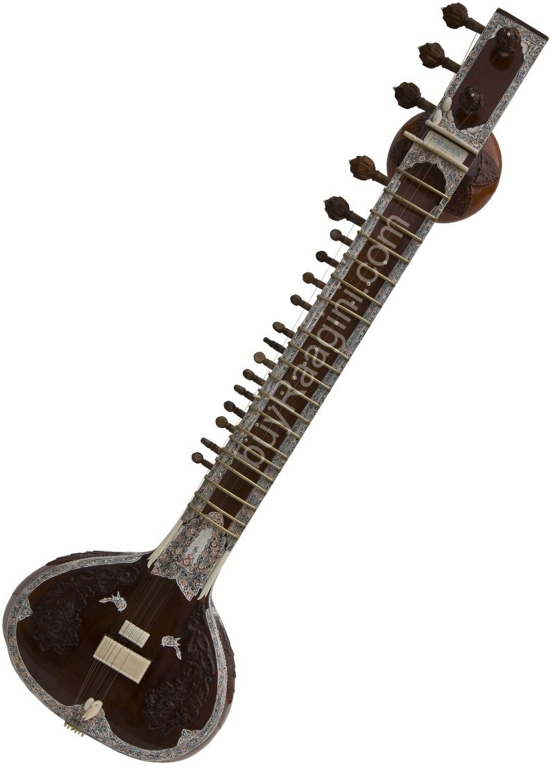 SITAR MAHARAJA�/RAVI SHANKAR STYLE/DOUBLE TUMBA/HALF DECORATED ANGUR PATTA/DE-02