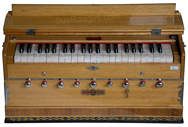 HARMONIUM BINA� SANGEET HARMONIUM/COUPLER FUNCT./42 KEY/NATURAL COLOR/3½/BJB-1