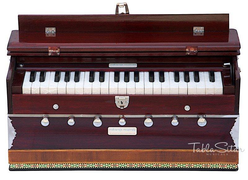 HARMONIUM No.5200m/MAHARAJA/3¼ OCTAVE/MULTI-BELLOW/7 STOP/COUPLER/PIANO/DB-4