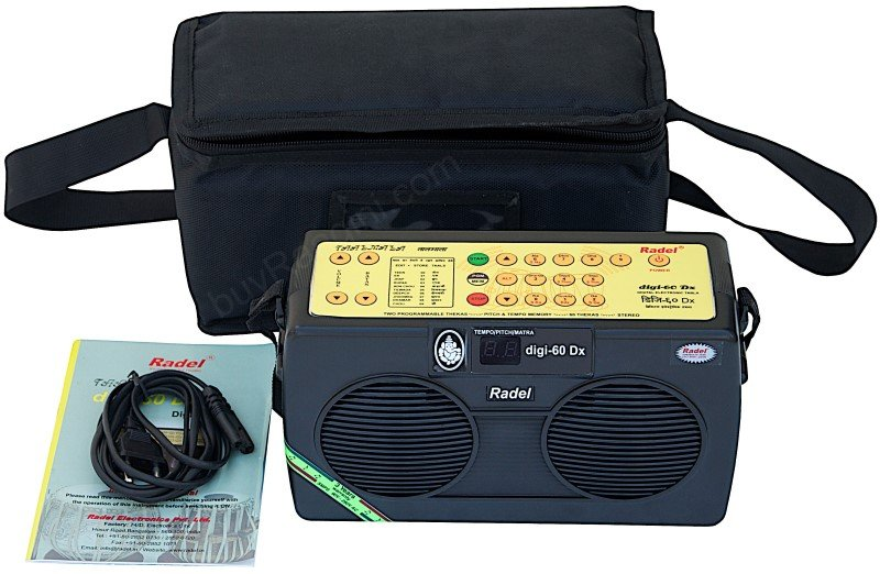 TAALMALA DIGI-60Dx RADEL� SPECIAL/USA RETURN/-ELE. DIGITAL TABLA FOR SALE/AAG-01