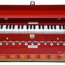 HARMONIUM No.5600r/MAHARAJA™/A440/11 STOP/COUPLER/42KEYS/CONCERT/RED COLOR/ABD-1