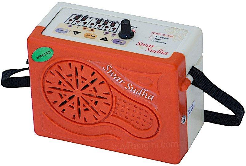 SWAR SUDHA� ELECTRONIC SHRUTI BOX/MANUAL/POWER CORD/SUR PETI/SOUND LABS/BAG/HB-1