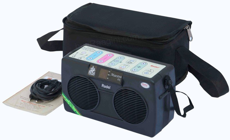 ELECTRONIC TANPURA RADEL� SAARANG MAESTRO DX/MANUAL/3YR WAR/CARRY BAG/BHG-1