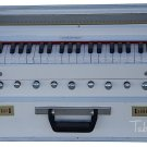 HARMONIUM No.5800wh/FOLDING/MAHARAJA™/A440/WHITE COLOR/COUPLER/9STOP/BOOK/AHG-1