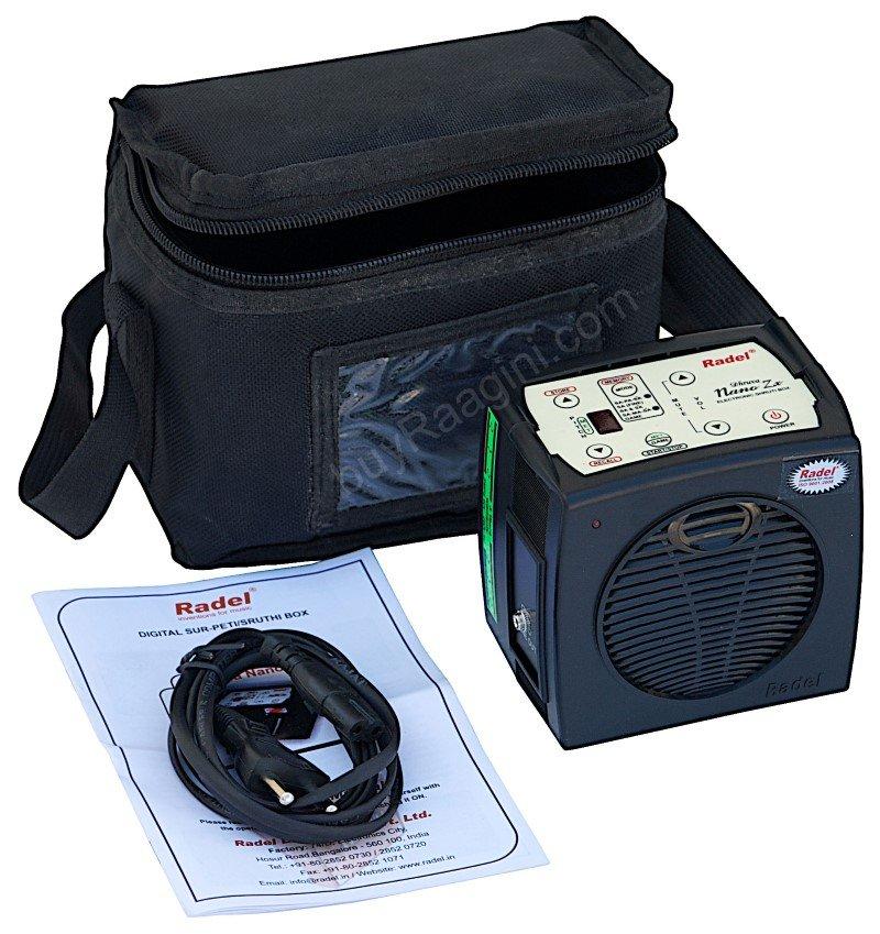 DHRUVA NANO ZX RADEL/ELECTR. SHRUTI BOX/DHRUVVA NANO Zx BY RADEL FOR SALE/AFJ-02