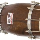 DHOLAK VHATKAR/SHEESHAM WOOD DHOLKI/NATURAL COLOR/BOLT TUNED/19 INCHES/BAG/DIH