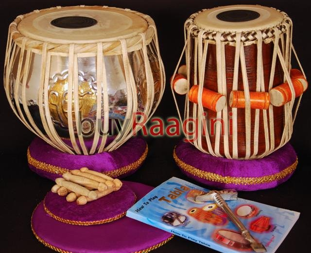 TABLA SET/MAHARAJA�/EK ONKAR BRASS BAYAN 3KG/ੴ/SHEESHAM DAYAN/FREE SHIPPING/IH-1