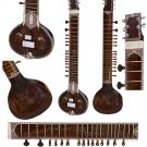 MAHARAJA™ ELECTRIC SITAR/SINGLE FLAT TUMBA/KHARAJ PANCHAM/DARK NATURAL/DJE