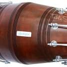 GAJRA DHOLK MAHARAJA™/DHOLAKI/DARK WOOD COLOR/MANGO WOOD/BOLT TUNED/PRO/BGA-1