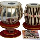 TABLA SET AKBAR MIAN & BROS™COPPER BAYAN/HI-QUALITY DAYAN/4KG/FREE SHIP./BFA-01