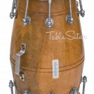 BUY MAHARAJA™ INDIAN DHOLKI/DHOLAK/NATURAL COLOR/MANGO WOOD/BOLT TUNED/BAG/AJD-2