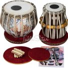 BUY TABLA SET MAHARAJA™/TWIN COLOR/COPPER BAYAN 3KG/SHEESHAM DAYAN/ACCES./IG