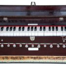 HARMONIUM No. 5600m/MAHARAJA™A440/11STOP/COUPLER/42KEY/MAHOGANY/BOOK/BAG/DD-1