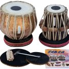 TABLA SET/GOLDEN GANESHA/MAHARAJA™/BUY COPPER BAYAN 3.5KG/SHEESHAM DAYAN/BGI-01