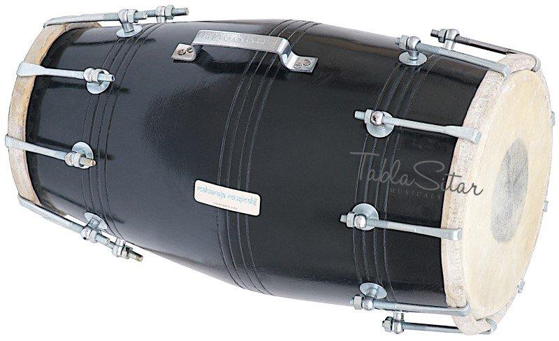 DHOLAK /BOLT TUNEDMAHARAJA�/BLACK/INDIAN DHOLKI/MANGO WOOD DHOLAK/WITH BAG/FJ-1