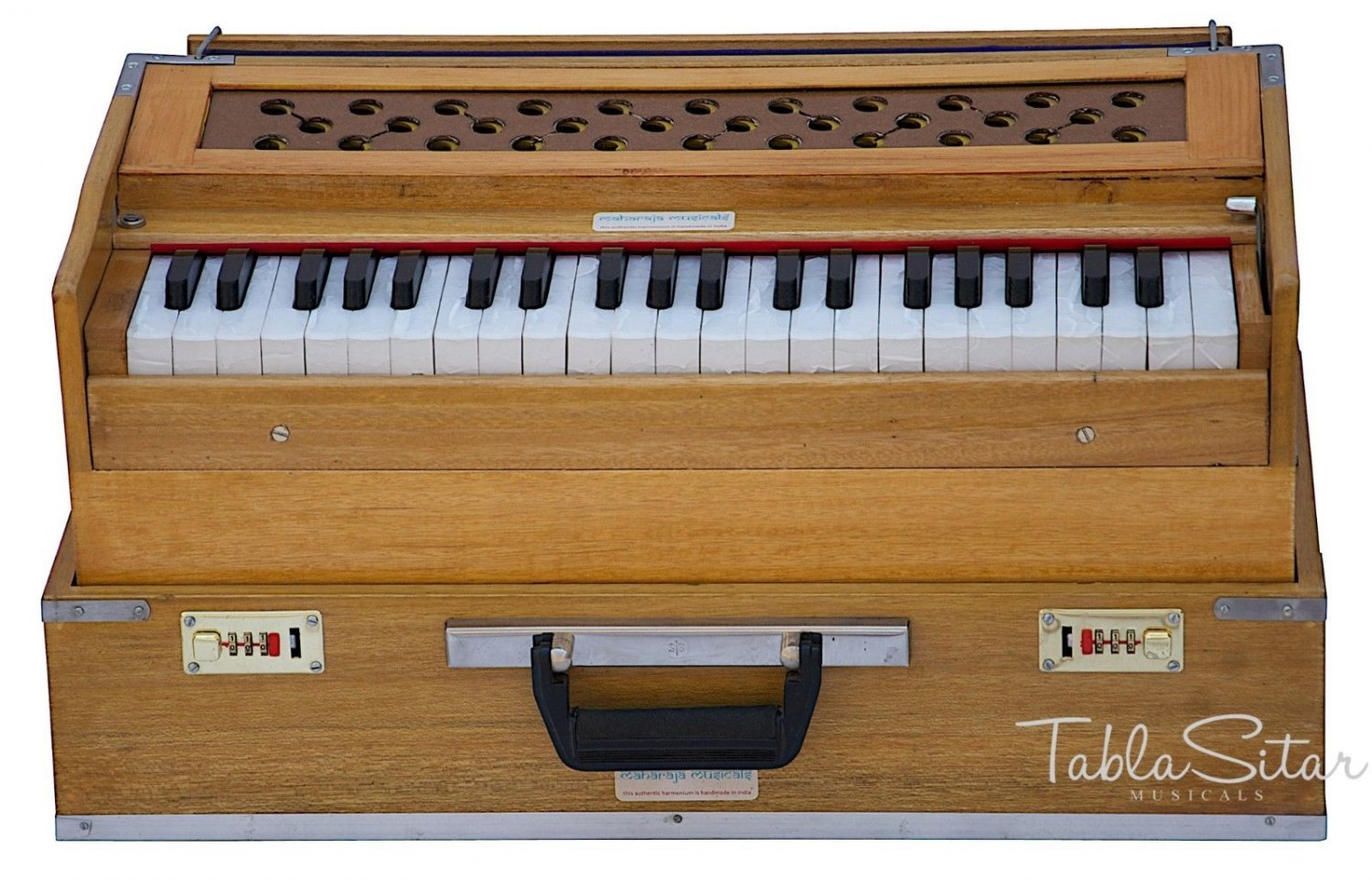 HARMONIUM FOLDING No.6000n/MAHARAJA� A440/NATURAL COLOR/COUPLER/42KEYS/BFC-1