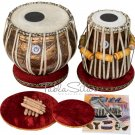 TABLA SET/LALI & SONS CONCERT GODDESS SARASWATI/COPPER BAYAN 4KG/SHES.DAYAN/CJI