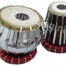 TABLA SET MAHARAJA™/BRASS BAYAN 4KG/BOLT TUNED DRUMS/SHEESHAM DAYAN/CUSHION/EE