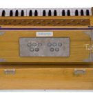 HARMONIUM No. 6001t/MAHARAJA/TEAK WOOD/COUPLER/FOLDING/2 REED/2.75 OCTAVE/EJG-02