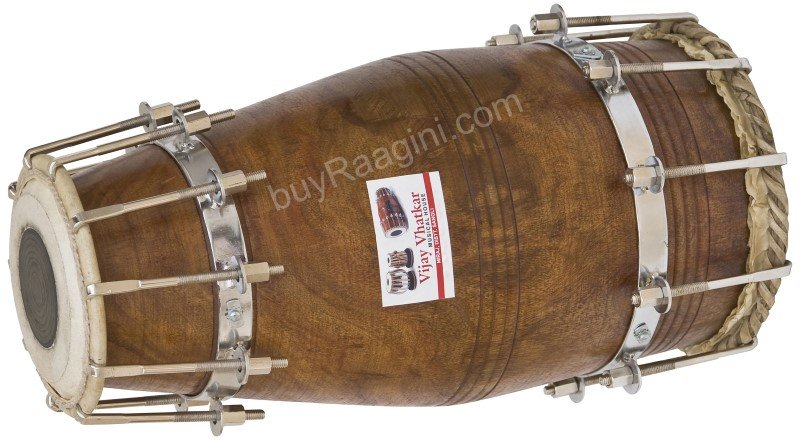VHATKAR NAAL/SHEESHAM WOOD/DRUM/BOLT-TUNED/NATURAL COLOR/SHISHAM/INDIAN/DII-2