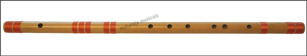 FLUTE MAHARAJA|CONCERT|SCALE E NATURAL BASS 29.5 IN.|FINEST BAMBOO BANSURI/CFG-2