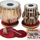 TABLA SET MAHARAJA™/LACQUER POLISH HEAVY COPPER BAYAN 5½ KG/SHISHAM DAYAN/BJJ-02